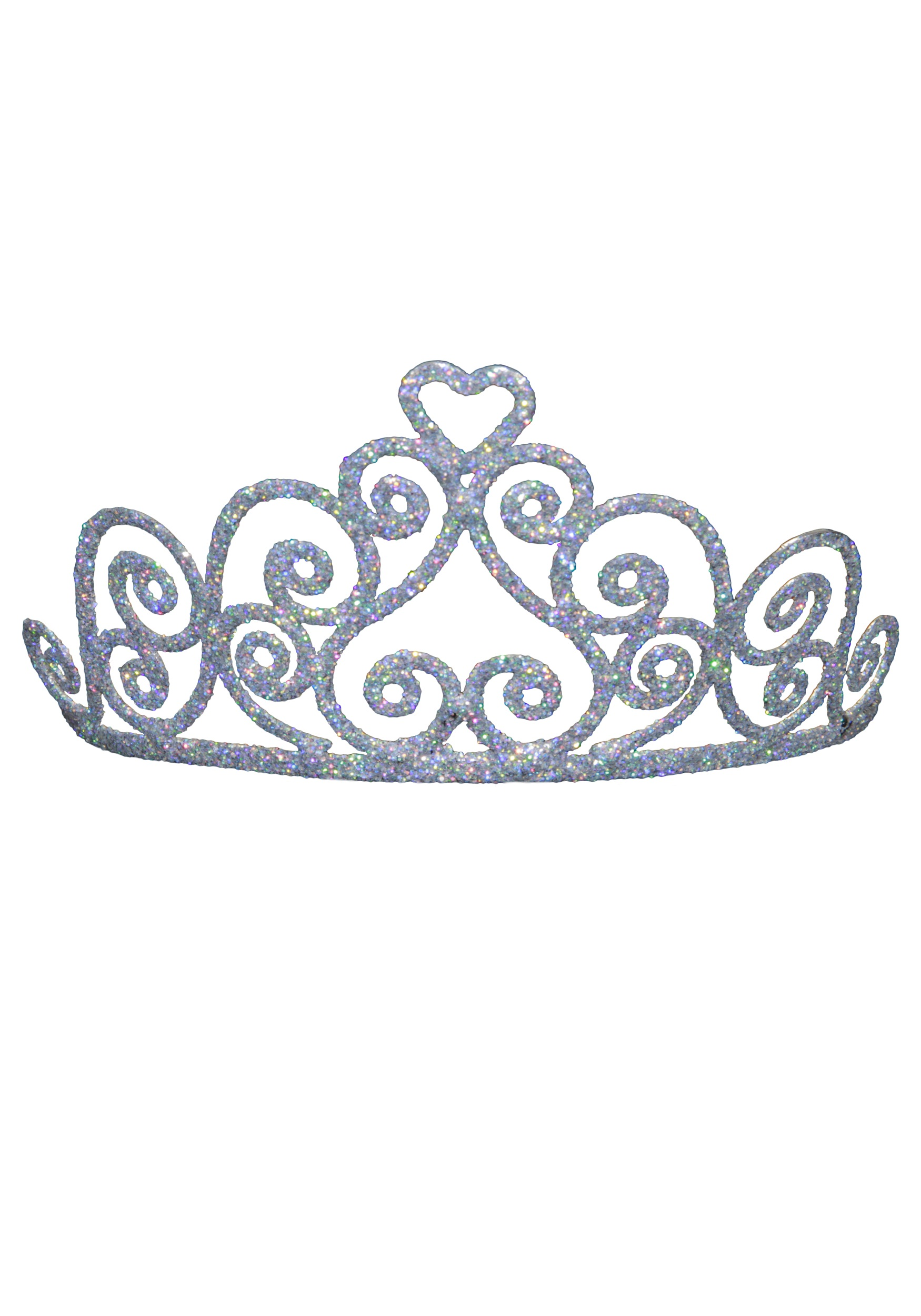 Sparkly Silver Tiara Clipart - Clipart Kid