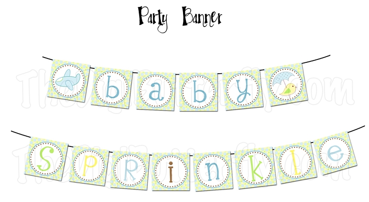 Sprinkle Baby Shower Clipart - Clipart Suggest