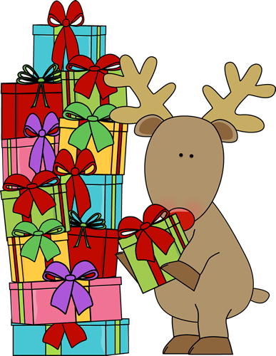 Xmas gift clipart suggest