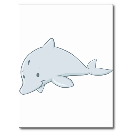 Bottlenose Dolphin Drawing Cool Baby Bottlenose Dolphin Cartoon Post