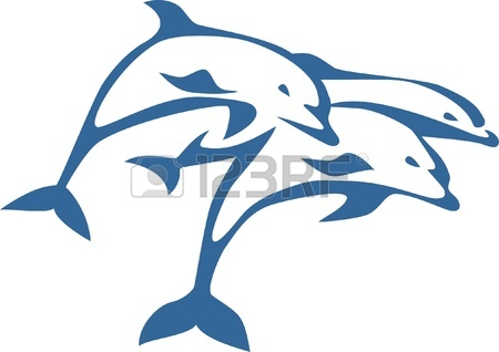 Bottlenose Dolphin Jumping   Clipart Panda   Free Clipart Images