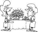 Buffet Clipart   3 Images