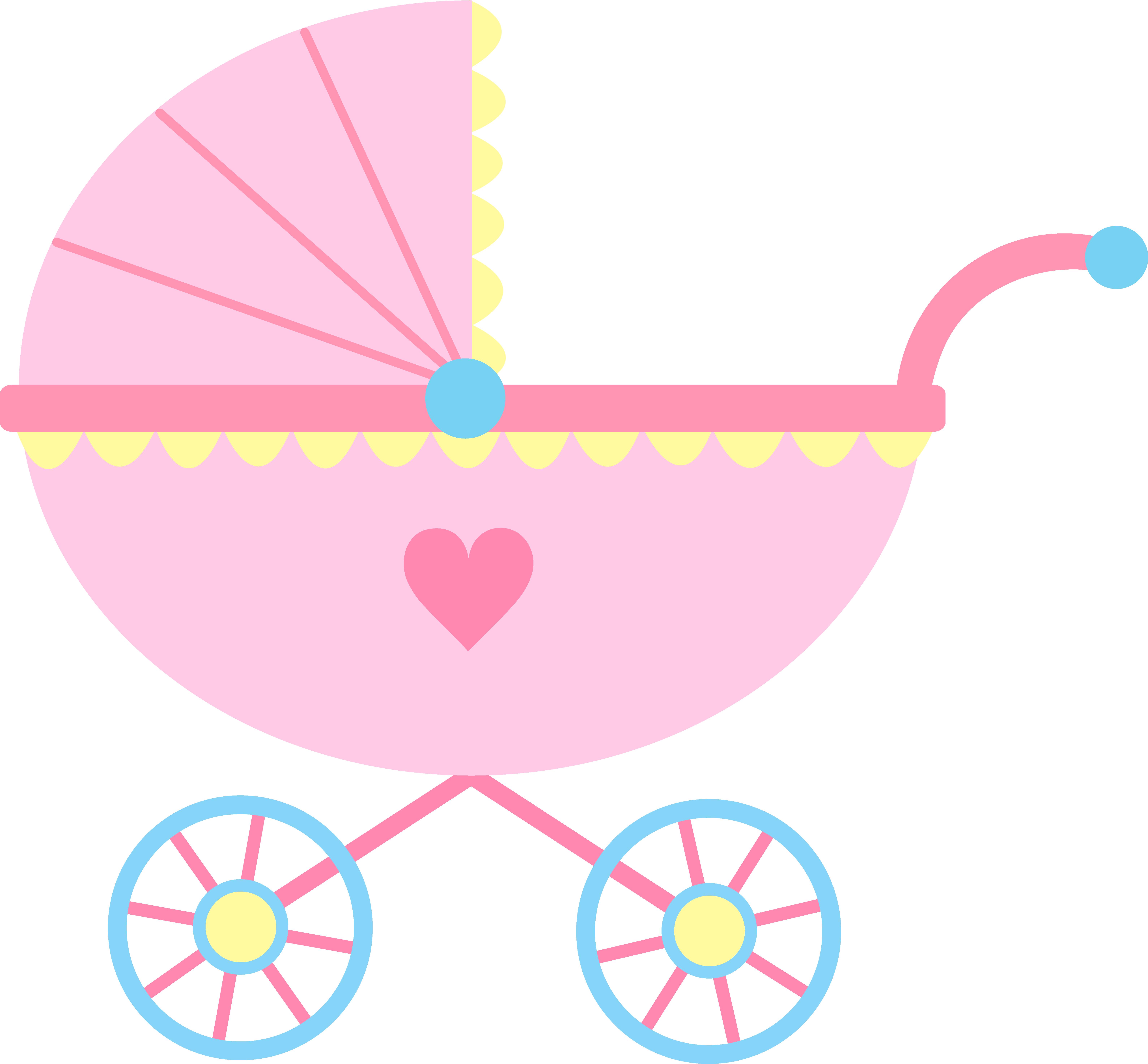 Baby Shower Invitation Border Clip Art | Free | Download