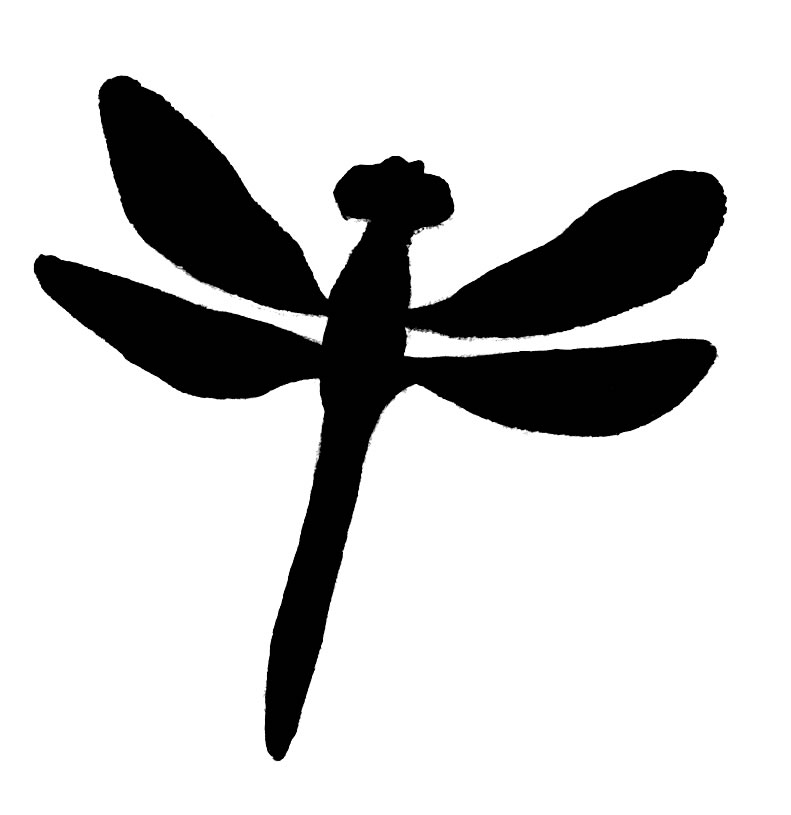 Dragonfly Clipart Black And White   Clipart Panda   Free Clipart