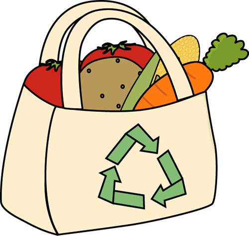 Grocery Bag Clipart - Clipart Suggest