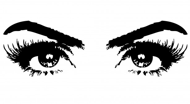 Eyes Of Woman Clipart By Karen Arnold