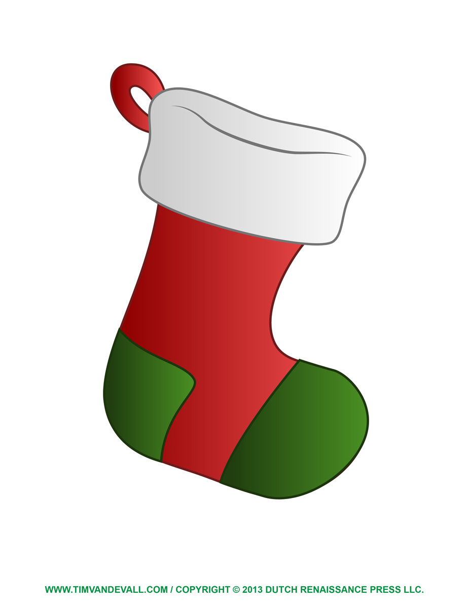 Christmas Stocking Clipart - Clipart Kid