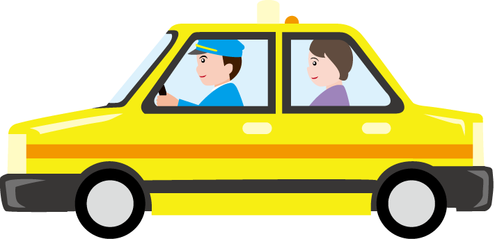 Free Taxi Clipart