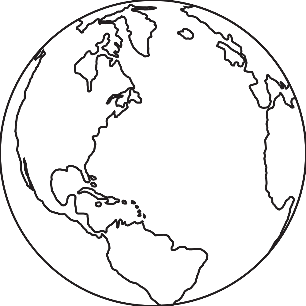 Globe Clipart Black And White Earth Clipart Black And White Jtx868bte