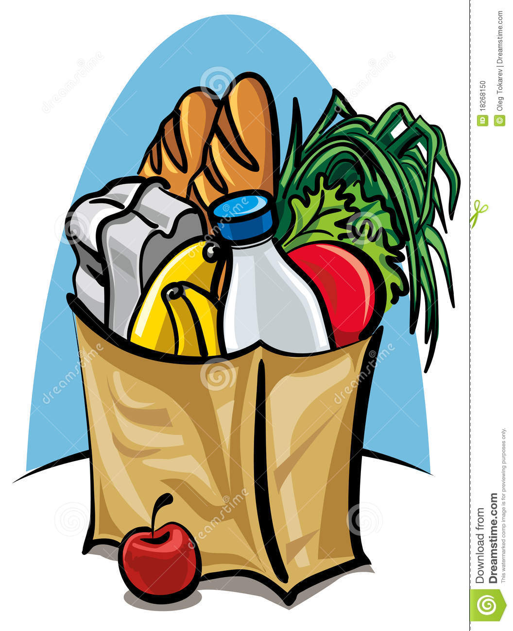 Clip Art Grocery Clipart grocery bag clipart kid clip art