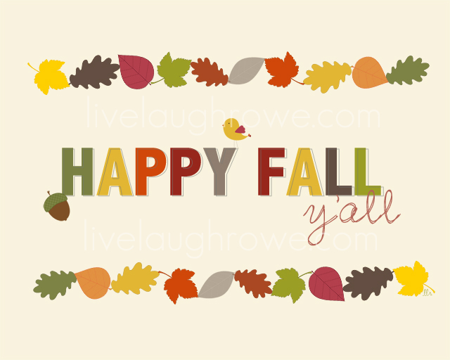 Happy Fall Y'all Clipart - Clipart Suggest