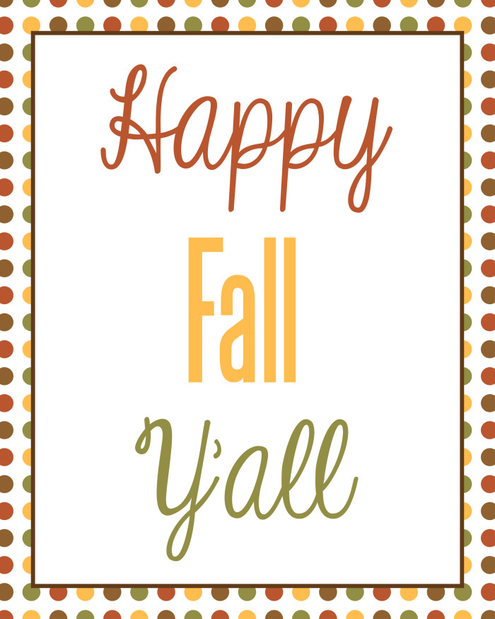 Happy Fall Y'all Clip Art – Cliparts