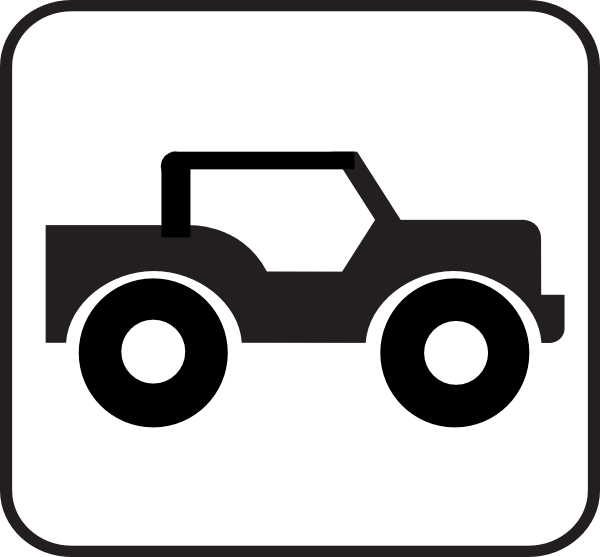 Jeep With Roof Clip Art At Clker Com   Vector Clip Art Online Royalty