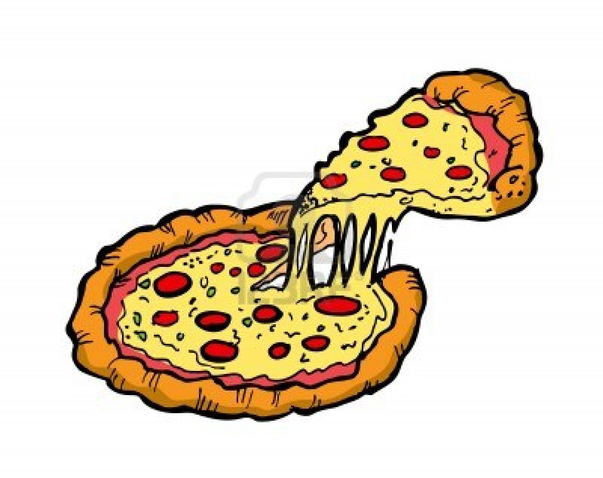 eating pizza clipart clipart suggest