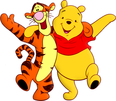 Psd Detail   Tigger And Pooh   Official Psds