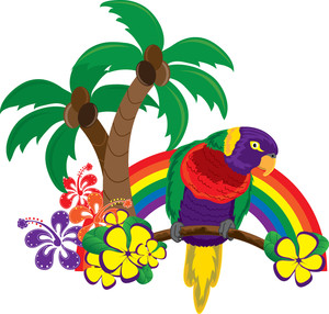 Rainforest Birds Clipart Tropical Clipart Image  Clip A
