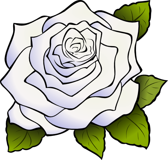 Rose Black And White Outline   Clipart Panda   Free Clipart Images