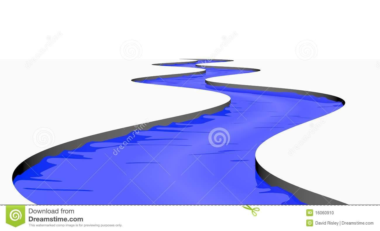 flowing river cartoon - photo #26
