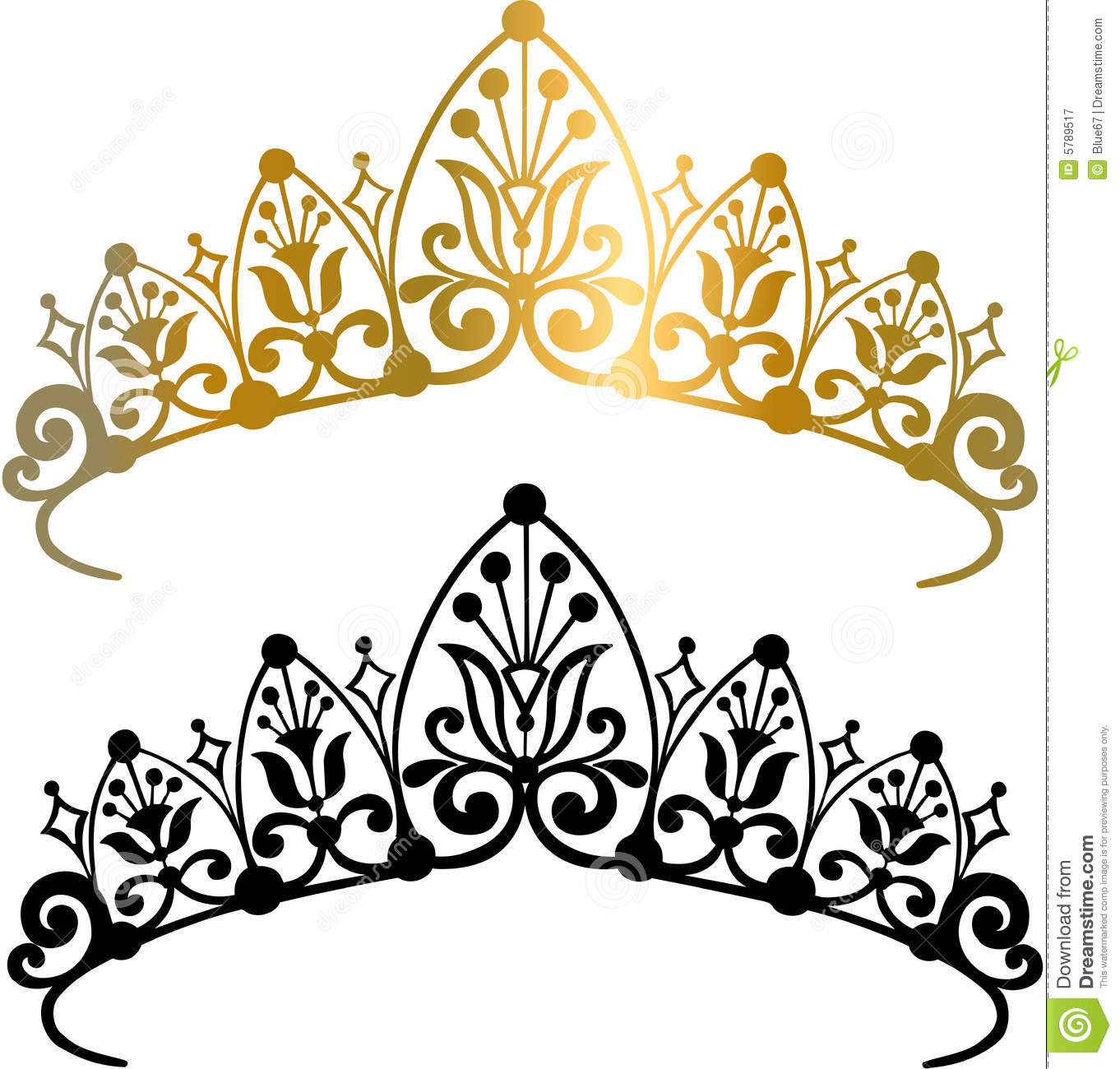 Tiara- Vector Clipart - Clipart Kid