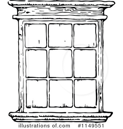 Window Black And White Clipart Clipart Suggest