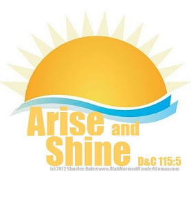 Arise And Shine Forth 2012 Lds Yw Theme   Portrait