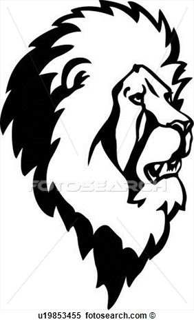 Clipart    Animal King Jungle Lion   Fotosearch   Search Clip Art