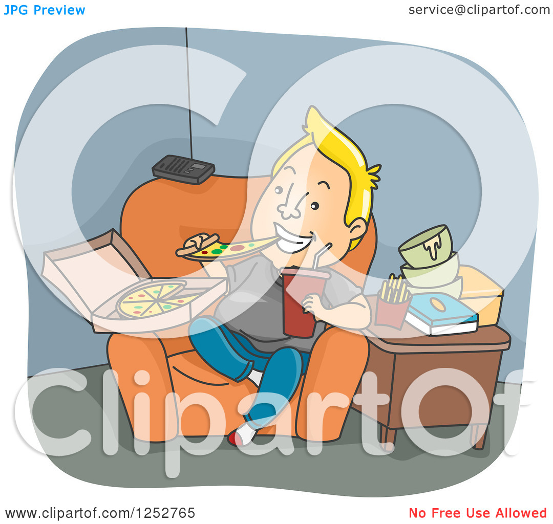 Eating Junk Food Clipart - Clipart Kid