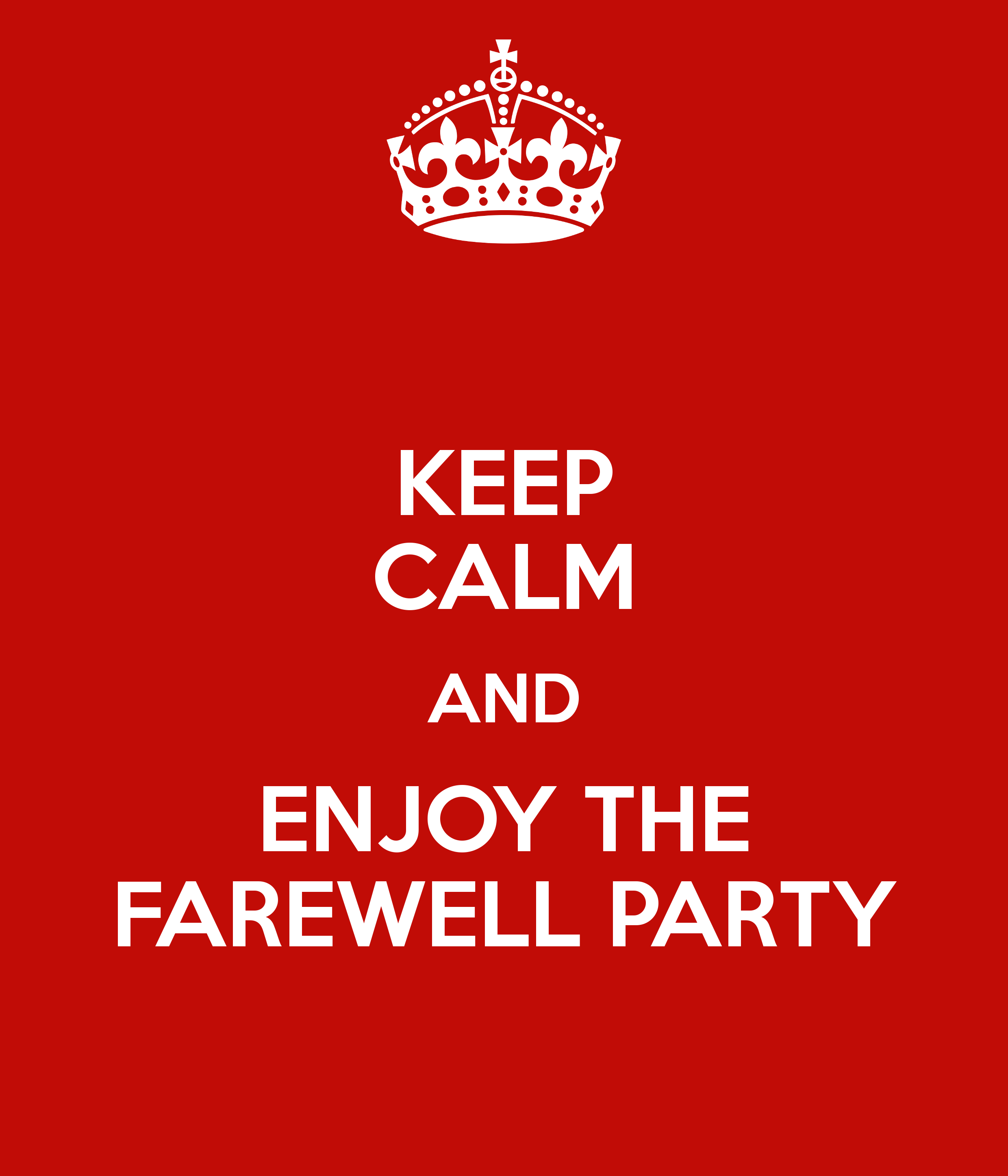Farewell Party Clipart Going Away Party Meme