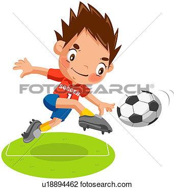 Football Personne Boule Football Worldcup Athl Te Voir Clipart