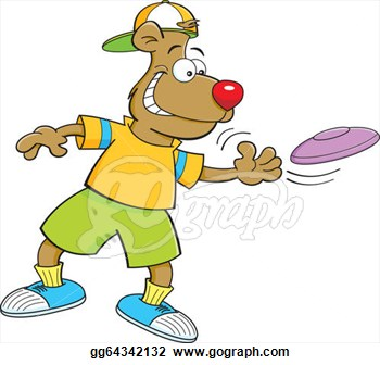 Frisbee Golf Clipart