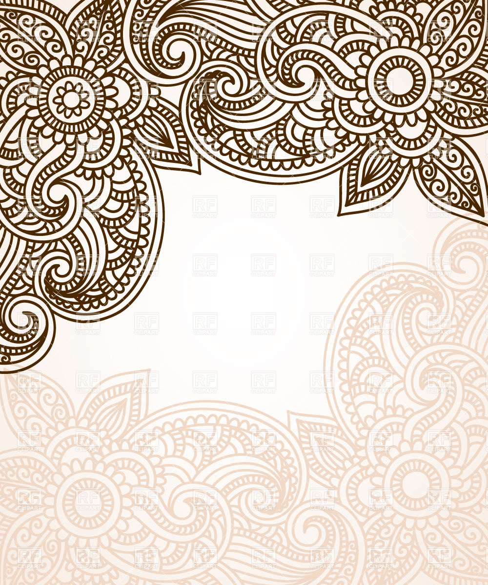 Simple indian patterns