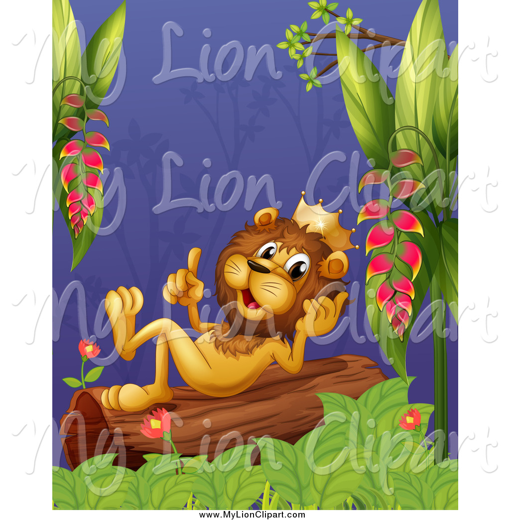Jungle Lion Clipart Clipart Of A King Lion Talking