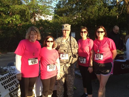 National Guard Wives At The Fallen Heroes 5 K Custom T Shirt Design