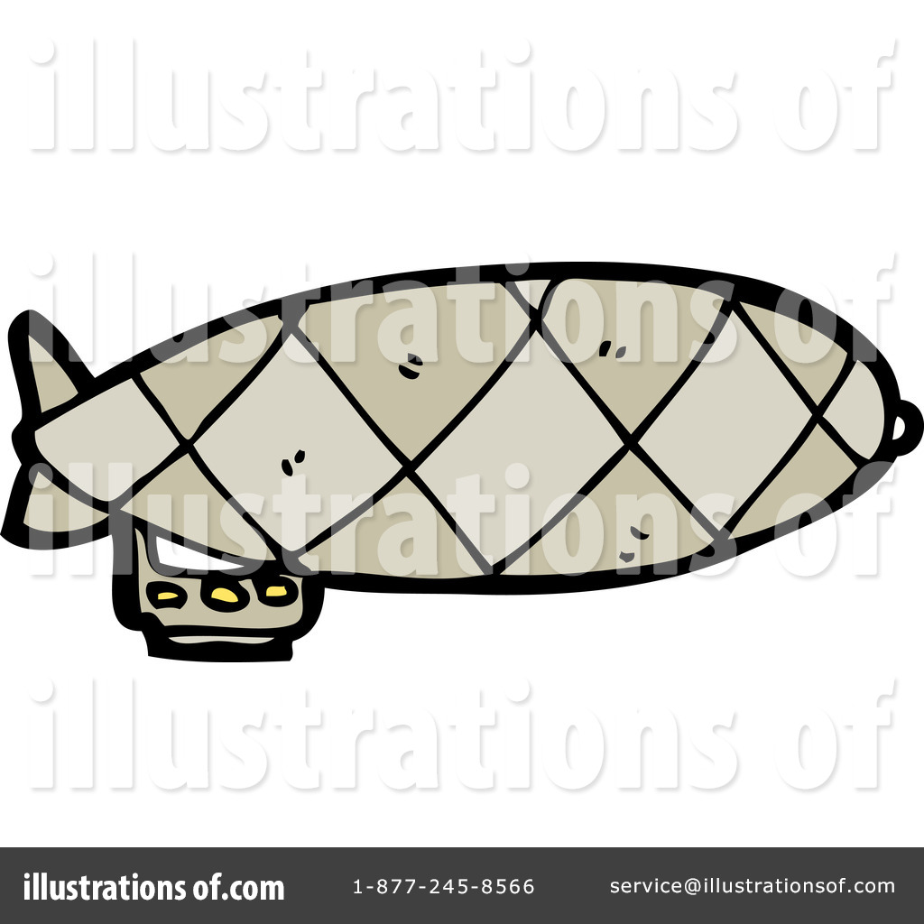 Blimp Clipart  1186897 By Lineartestpilot   Royalty Free  Rf  Stock