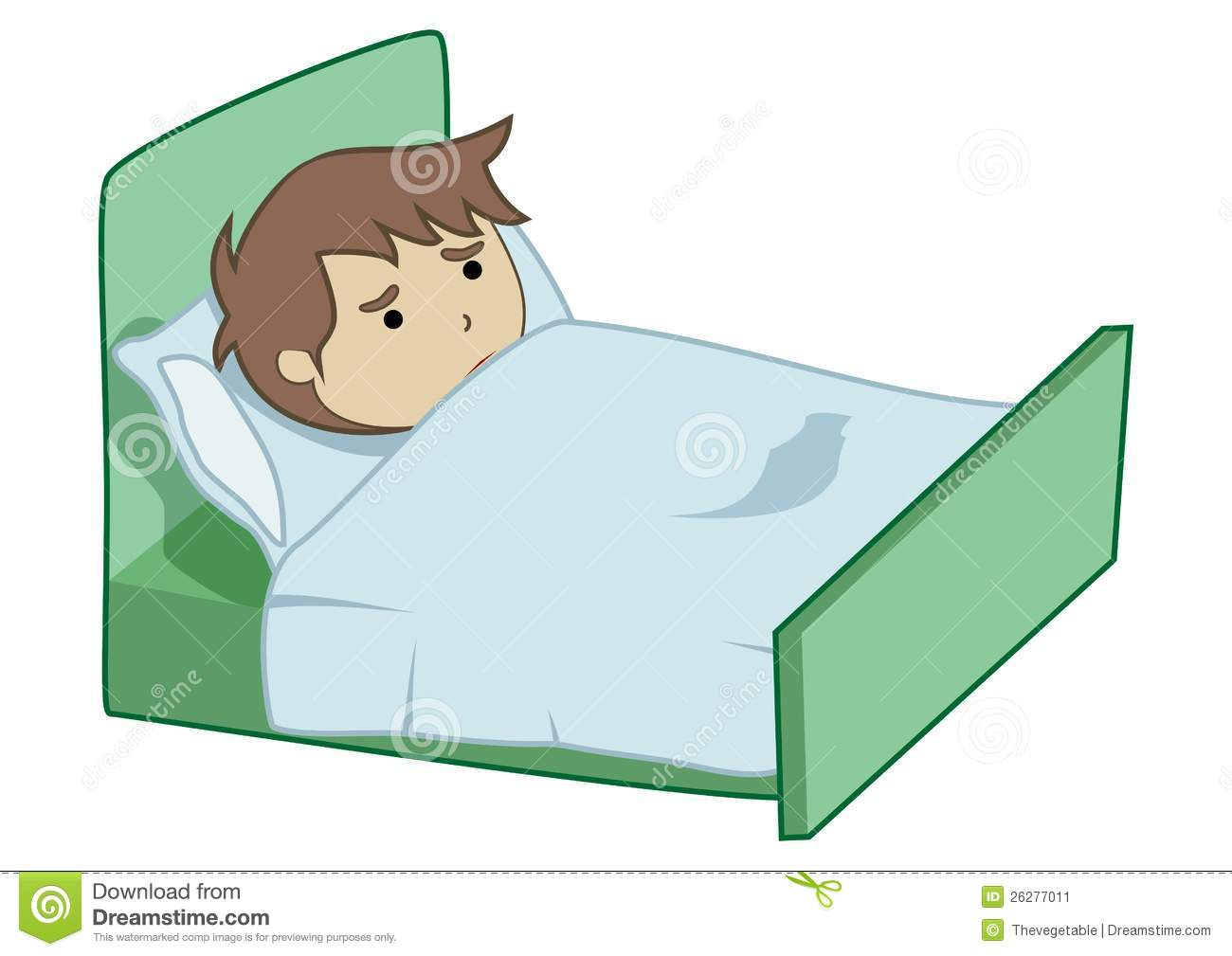 Boy Sick Stock Image   Image  26277011