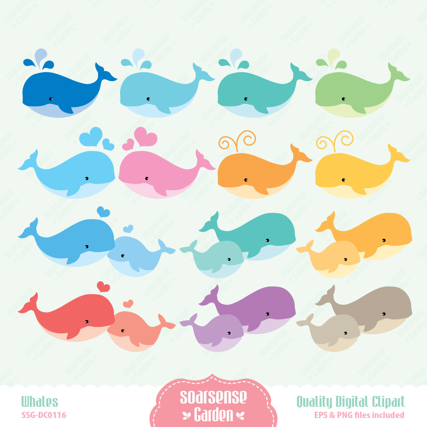 clipart baby shower whale - photo #42