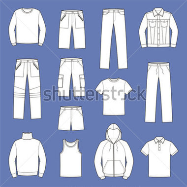 Jeans Pants Shorts Jersey T Shirt Singlet Smock Sweater Polo T Shirt
