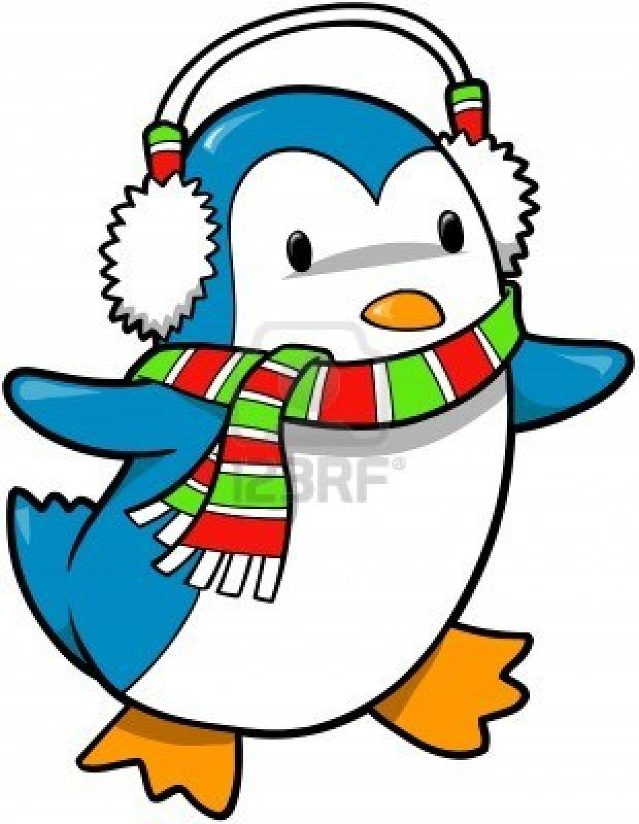 Holiday Penguin Clipart - Clipart Suggest