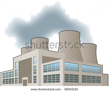 Nuclear Power Plant Clip Art - More information