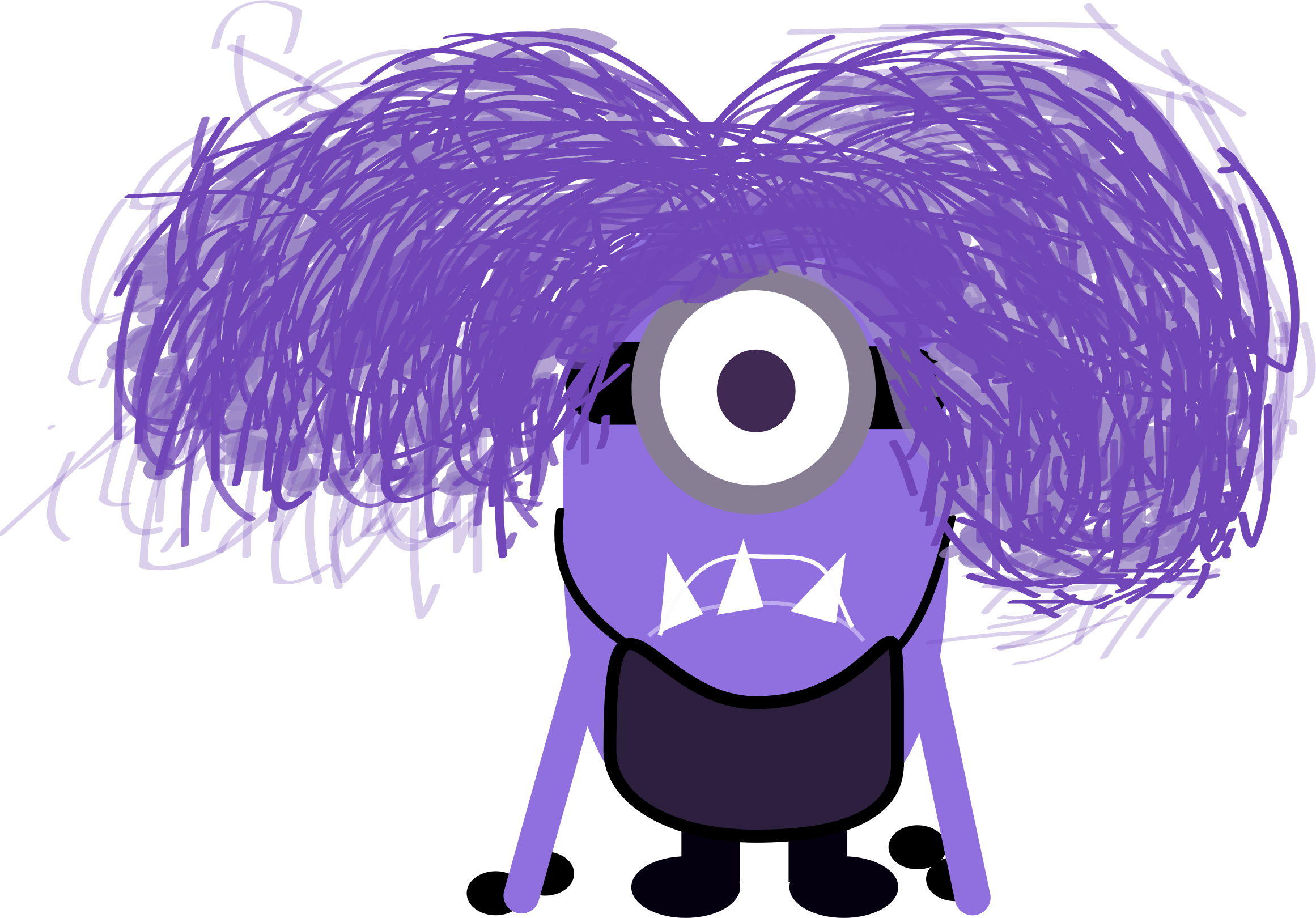 Purple Minion Clipart - Clipart Suggest