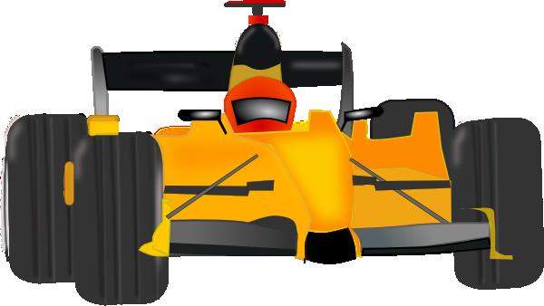 Cartoon Race Car Clipart - Clipart Kid