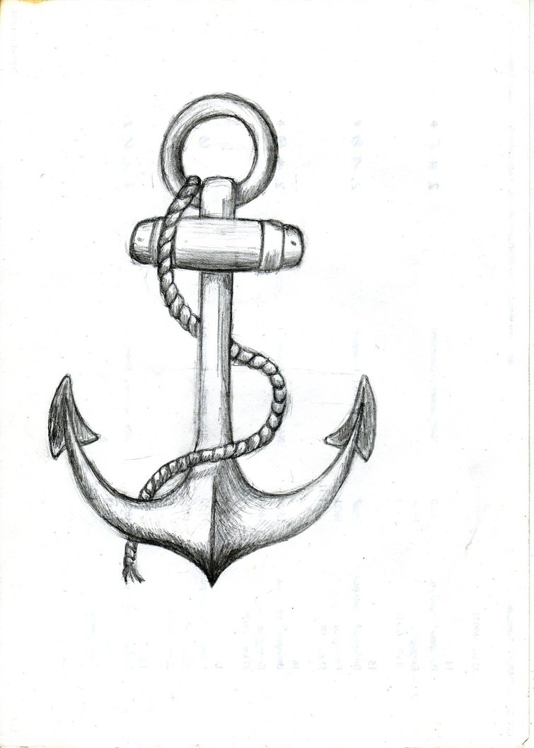 Simple Anchor Drawings Tumblr Clipart Free Clipart
