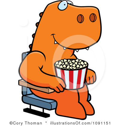 Watching Movies Clipart Royalty Free Movies Clipart Illustration