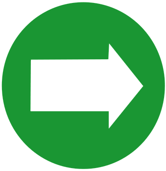 Arrows Arrows Color Arrows In Circles Arrow Circle Green Right Png