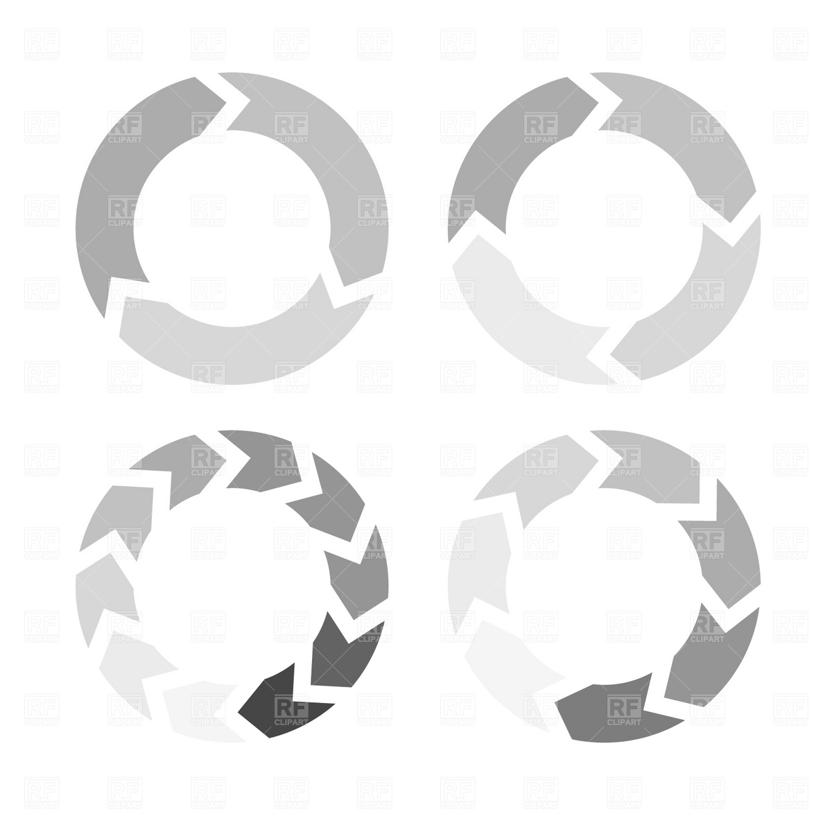 Circle Arrows Clipart - Clipart Kid