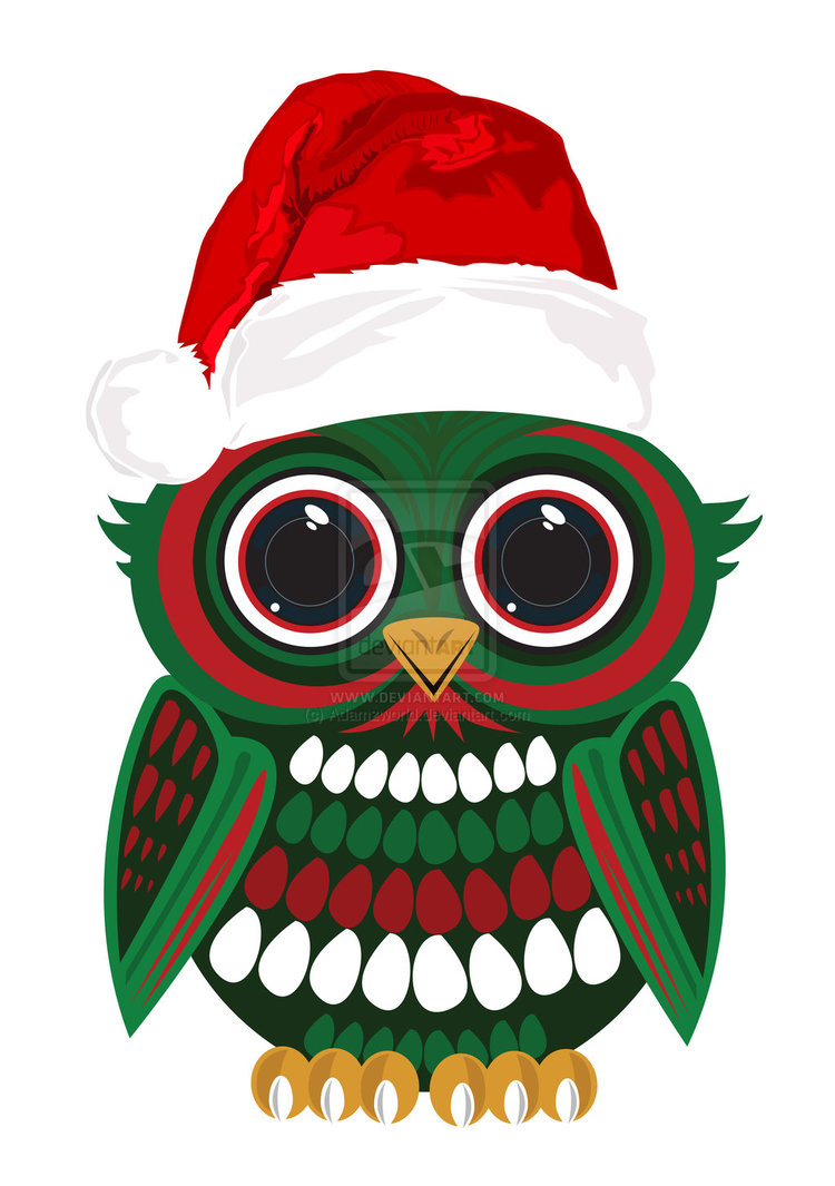 merry christmas owl clipart clipart suggest christmas owls clip art Christmas Owl Clip Art Angel