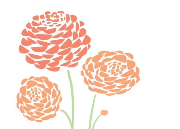Dahlias   Free Images At Clker Com   Vector Clip Art Online Royalty