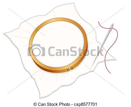 Embroidery Hoop    Csp8577701   Search Clipart Illustration