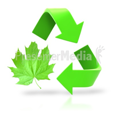 Leaf Circle Recycle Arrows   Wildlife And Nature   Great Clipart For