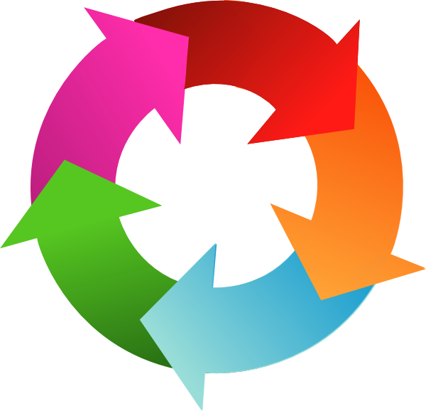 clipart arrows in a circle - photo #7